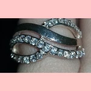Double Infinty Ring size 8